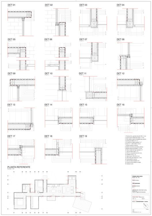 Gallery Of Yellow House Alejandro Soffia 32 Yellow Houses Floor Plan Drawing Built Environment Yellow house floor plan