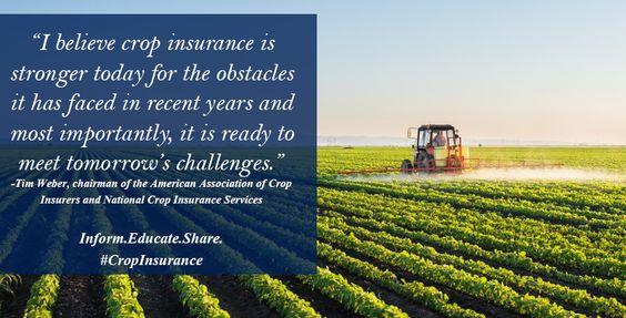 Crop Insurers Celebrate Past Success Set Sights On Future Crop