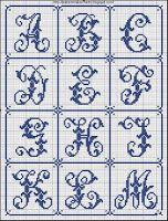 Free Easy Cross, Pattern Maker, PCStitch Charts + Free Historic Old Pattern Books: Sajou No 206