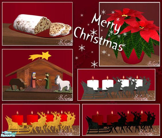 I wish you all a Merry Christmas.  Found in TSR Category 'Objects'