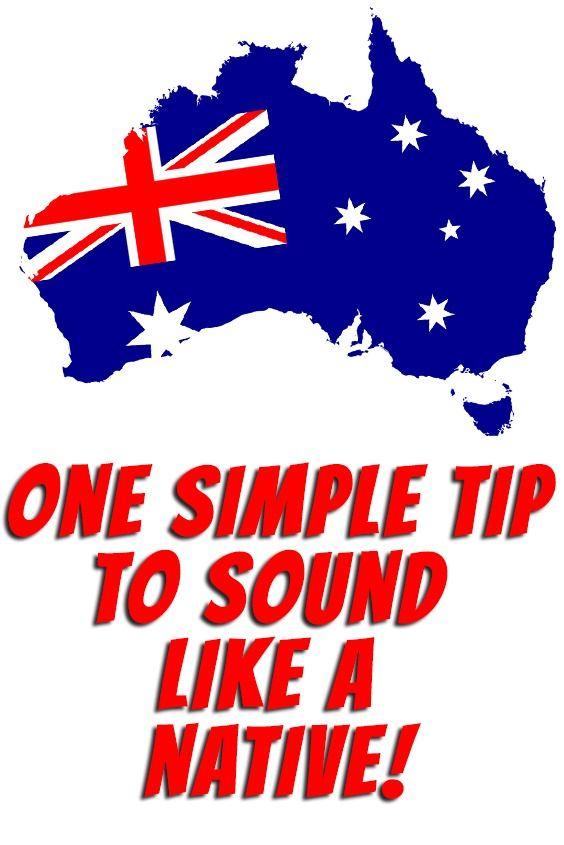 Australian Pronunciation Australian English English Accent Australian Accent
