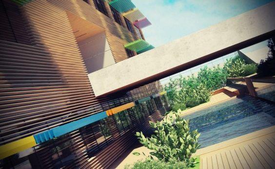 Concursos de arquitectura | CENTRO DE ESPECIALIDADES MÉDICAS | En GAYARRE infografia, ayudamos a los arquitectos ha conseguir el éxito en un concurso por medio de la infografia 3d.