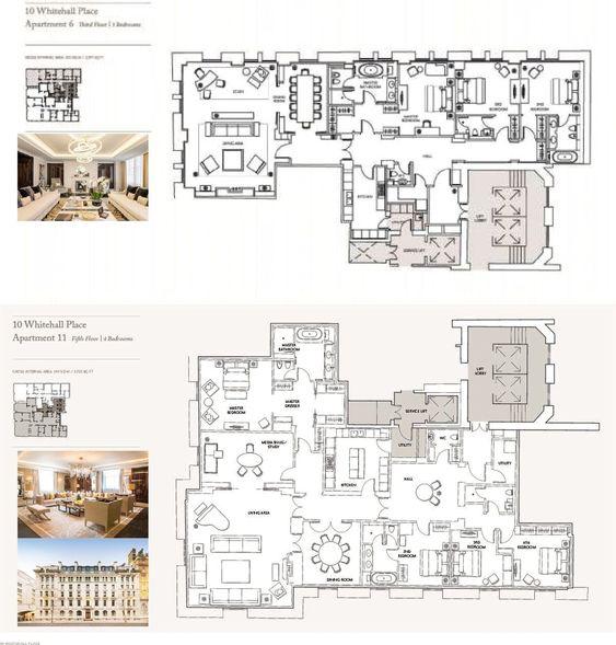 The Corinthia Residences, 10 Whitehall Place, London, SW1A ...