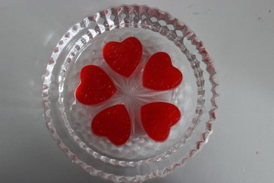 Valentine's Jiggle Soap for your sweetheart!