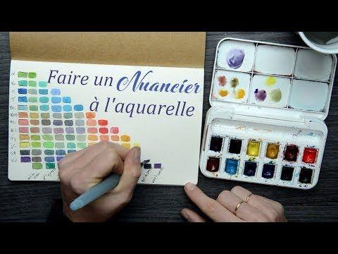 Debuter L Aquarelle Melanger Ses Couleurs Youtube Palette
