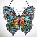 Stain glass butterfly