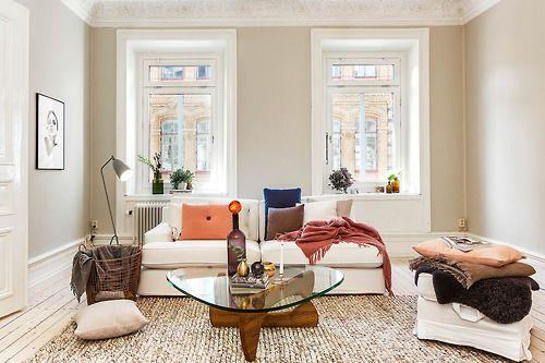 love that wall color Home Decor Pinterest Scandinavian living