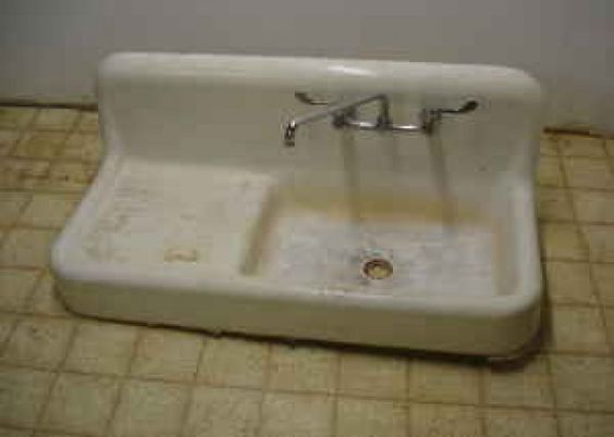 old cast iron kitchen sinks antique cast iron sink cape redo sinks 7156