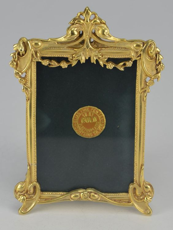 brand new elias artmetal gold plated victorian picture frame style 1655g ebay