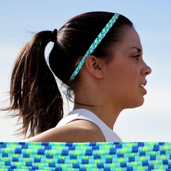Bunji BAND Elastic Headbands for Athletes - Hyacinth