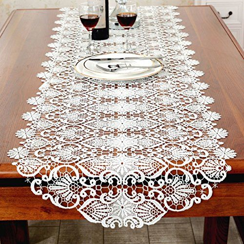 European Style Embroidery Table Runner Embroidery Table Runner