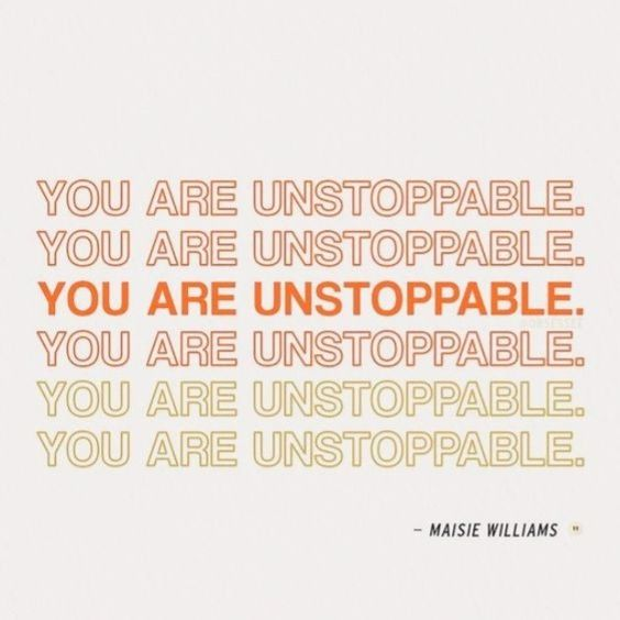 Unstoppable despite the stress and the crisis. #ShatterProofLife