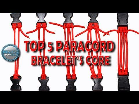 Top 5 Paracord Bracelets Core How To Make Paracord Bracelet Core World Of Paracord Youtube Paracord Paracord Bracelets Paracord Bracelet Tutorial
