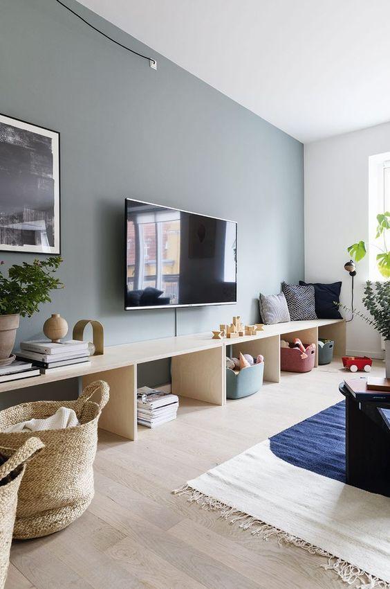 テレビ 壁掛け コーディネート例