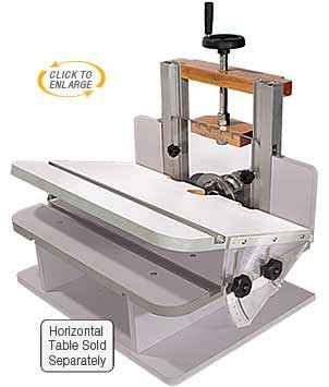 Router bits accessories and router table on pinterest for Best horizontal router table