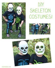 DIY Halloween costume templates