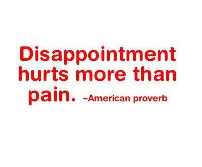 30 Sad Disappointment Quotes