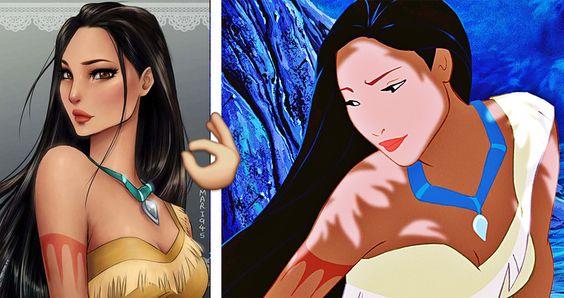 15 princesas convertidas en hermosos personajes de anime