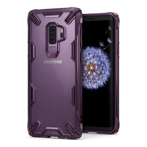 Samsung Galaxy S9 Plus Ringke Fusion X Utesallo Muanyag Telefontok Rugalmas Szilikon Kerettel Atlatszo Lila Samsung Galaxy S9 Samsung Galaxy Samsung