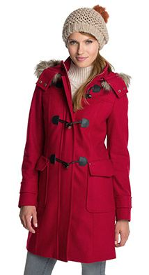 Duffle-coat en laine mélangée - Esprit Femme #fashion