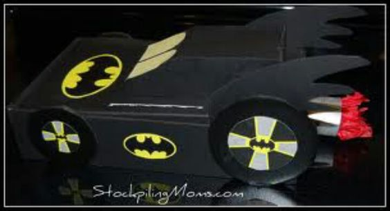 batman valentines day box ideas