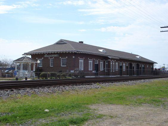 Wills Point Train Depot