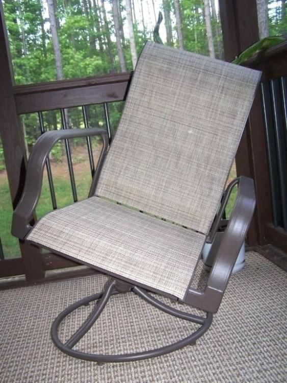 Hampton Bay Patio Furniture Replacement Slings Outdoor Rocking