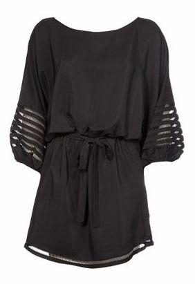 love this black tunic