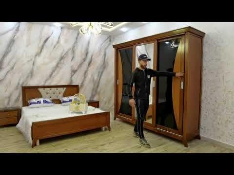 شاهد فخامة غرفة نوم خشب الزان الأتر 3 أبواب و بسعر رائع عند أثاث المنصف القليعة Youtube In 2021 Furniture Home Decor Home