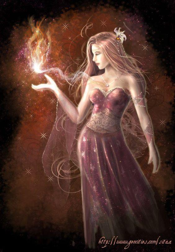Fire Fairies | fierce cleansing elemental fairy