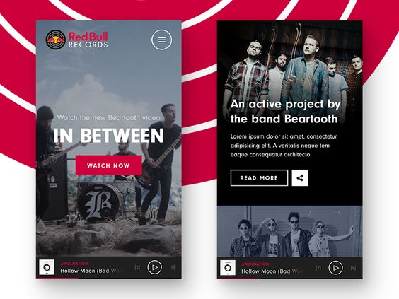 Red Bull Records is an engaging site that was designed and developed with our partners at Toi to serve music and related content in a new engaging way. It won a WOTD prize at CSS Design Awards and ...