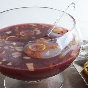 Sangria, Organic gardening and Punch bowls on Pinterest