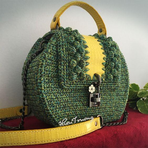Handmade Bags Crochet Bag Purses