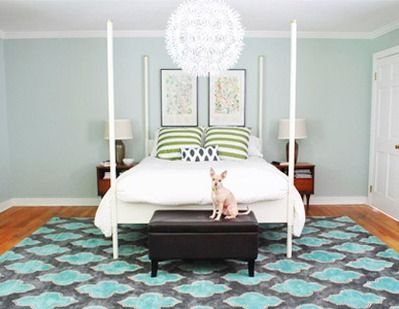 Geometric Area Rugs: A Great Starting Point For Any Room | l.a. design llc
