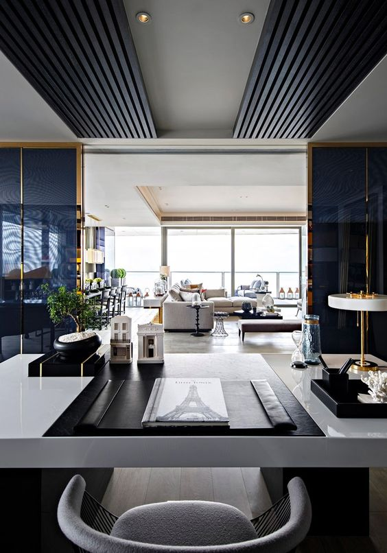Luxo contemporâneo: o apto Paris no One Shenzhen Bay, China • Living Gazette