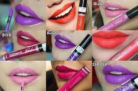 Meninas que cores lindas para todo tipo de pele e boca.