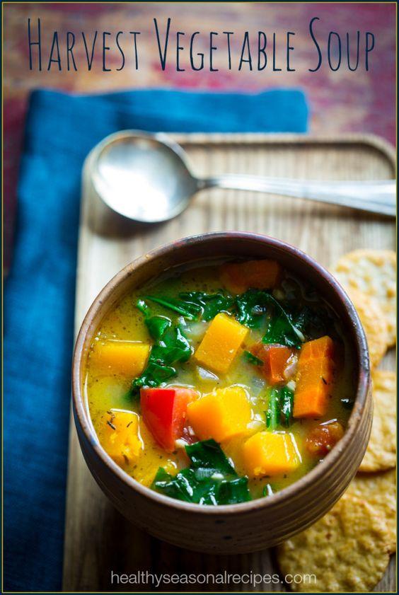 Harvest vegetable soup Recipe Vegetable Soups, Paleo Vegan and