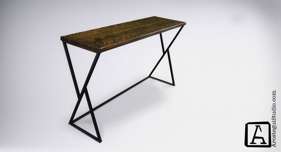 YK console table by Cristian Arostegui for Arostegui Studio