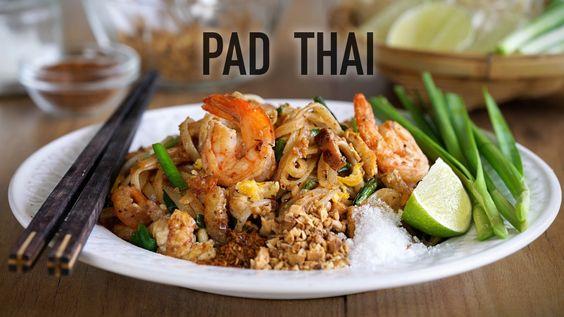 Auténtico Pad Thai de Kwan - Kwan´s Authentic Pad Thai Recipe (Fideos ar...