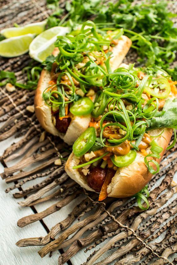 Thai Hot Dogs