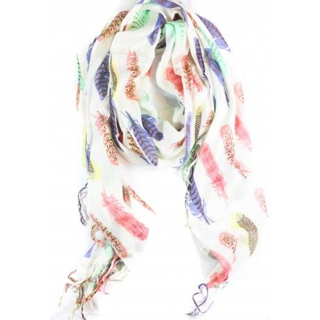 Love this Tickle Me Feather Scarf from Caroline Hill Collection!