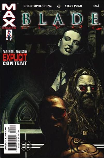 Blade Vol. 2 # 5 by Timothy Bradstreet