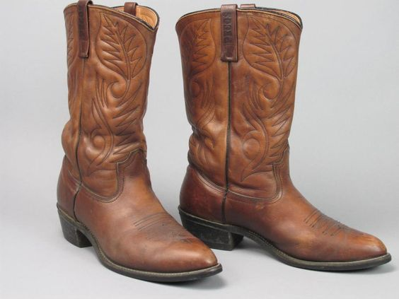 Vintage RED WING Pecos Boot Made in USA Size 11 D