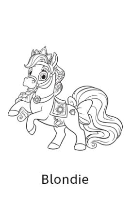 Disney Princess Palace Pets Sundrop Free Coloring Page Coloriage S And