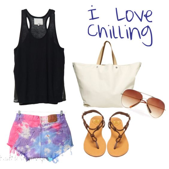 I love chilling, created by peacemusicbabe on Polyvore