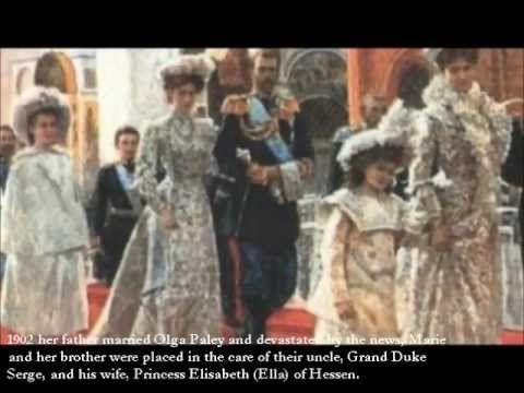 Grand Duchess Maria Pavlovna of Russia, Princess of Sweden - YouTube