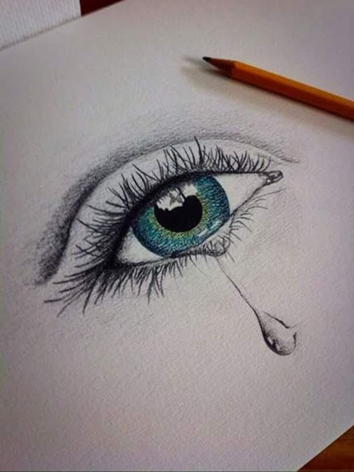 Drawing Eyes Crying | Post a comment