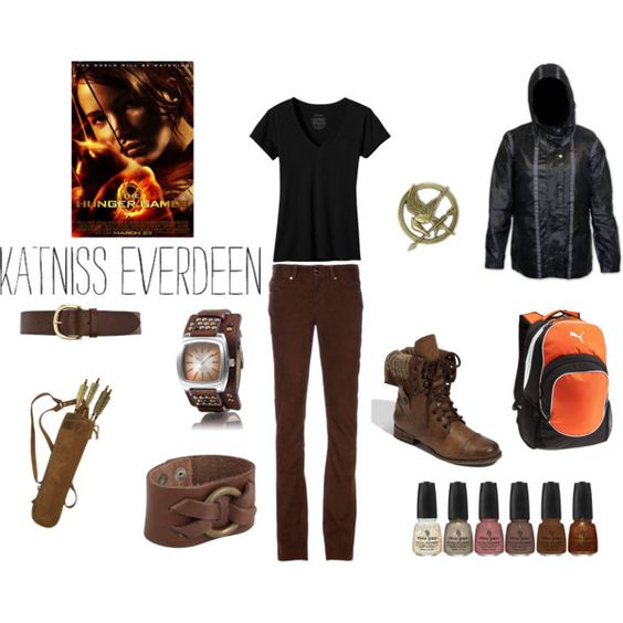 Katniss Everdeen, created by aarnold13.polyvor...