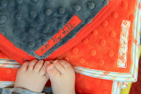 no big dill: Triple Stitched Blanket Tutorial