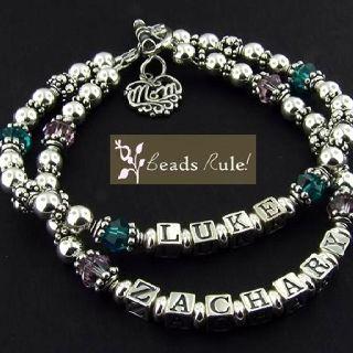 Two Strand Mommy Bracelet